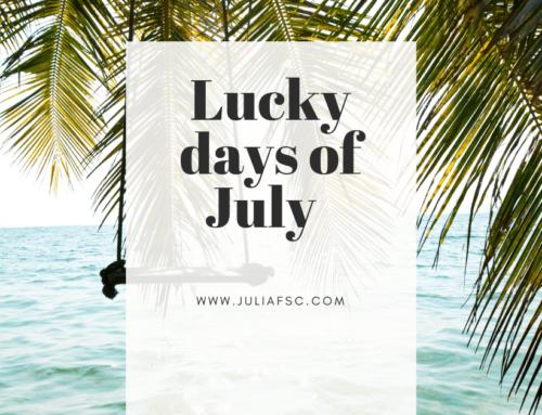 Τυχερές μέρες Ιουλίου
